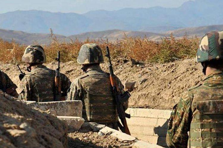 Armenians conduct military exercises in occupied Azerbaijani territories