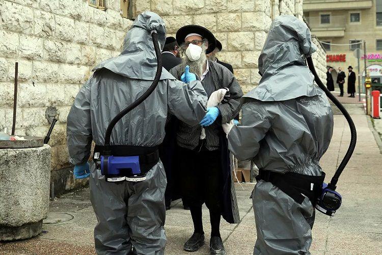 İsraildə bir gündə 621 nəfər koronavirusa yoluxub, 3 nəfər isə vəfat edib