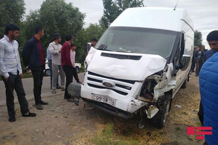 Sabirabadda qəzada minik avtomobilinin sürücüsü ölüb - FOTO