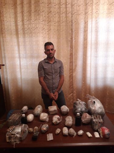 Azerbaijan prevents smuggling of 21,7 kg of heroin from Iran