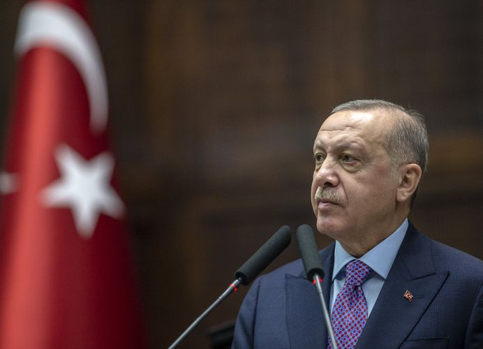 Turkey in midst of historic and vital struggle, Erdoğan says