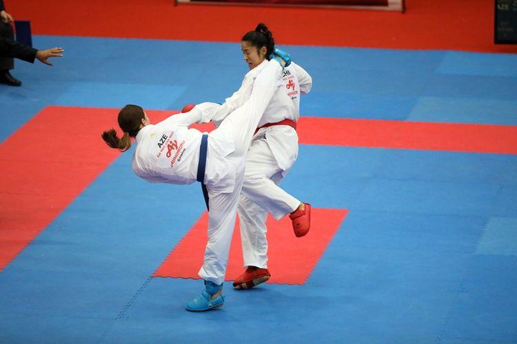 Azərbaycan karateçiləri Zalsburqda iki medal qazanıblar