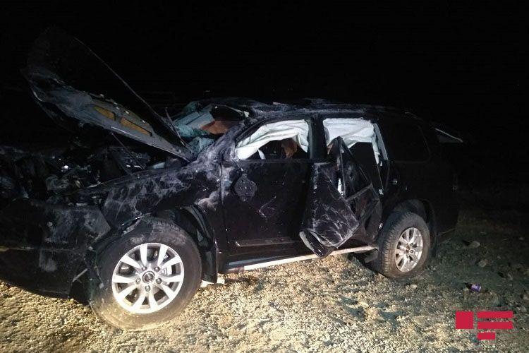 На трассе Баку-Газах семья попала в ДТП: погибли 2 человека, ранены 4 человека - ОБНОВЛЕНО - ФОТО