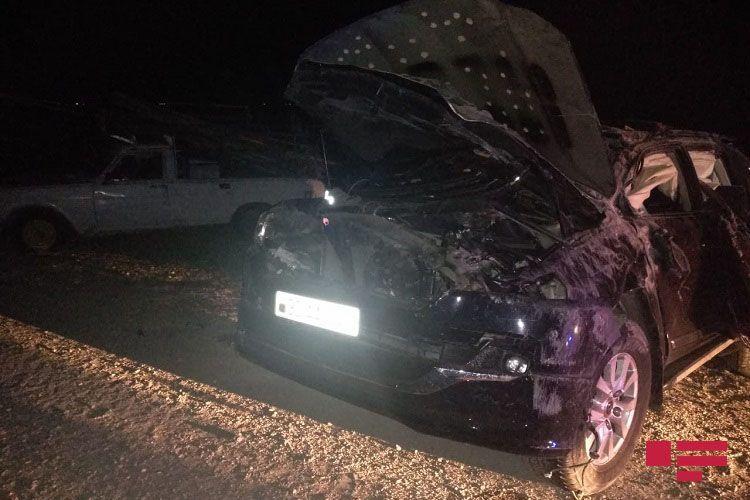 На трассе Баку-Газах семья попала в ДТП: погибли 2 человека, ранены 4 человека - <span class='red_color'>ОБНОВЛЕНО</span> - <span class='red_color'>ФОТО</span>