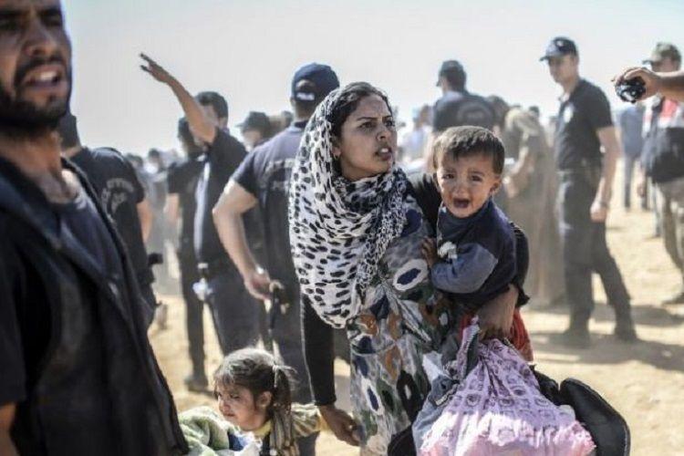 В Турции сообщили, что более 100 тыс. беженцев пересекли границу с ЕС
