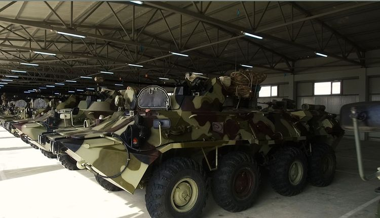 The troops involved in the exercises move to the operational areas  - <span class='red_color'>VIDEO</span>