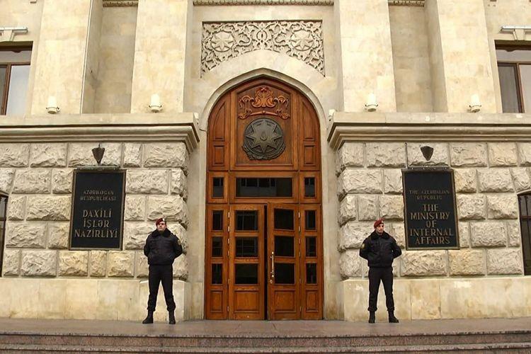 МВД распространило информацию в связи с ДТП в Баку, повлекшей смерть двух человек
