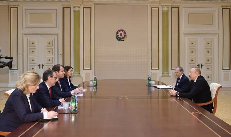 President Ilham Aliyev received delegation of European Bank for Reconstruction and Development  - UPDATED