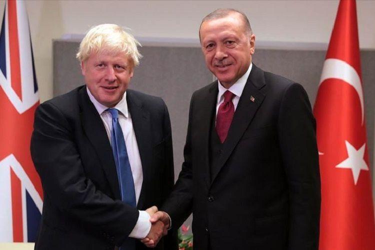 Boris Conson Suriyadakı əməliyyatlarla bağlı Ərdoğana dəstəyini bildirib