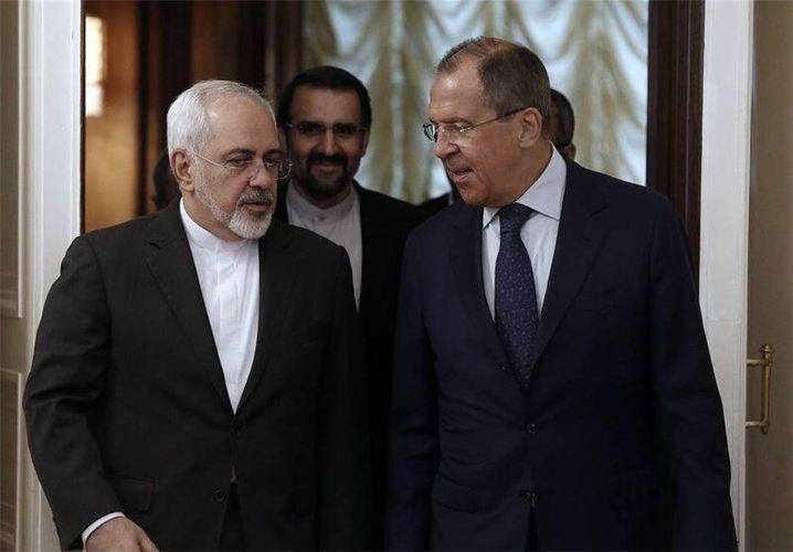 Lavrov and Javad Zarif discussed Idlib