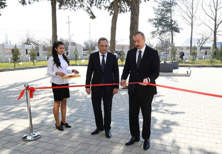 Президент Ильхам Алиев принял участие в открытии Азербайджанского государственного музея ашугского искусства  - ФОТО - ОБНОВЛЕНО