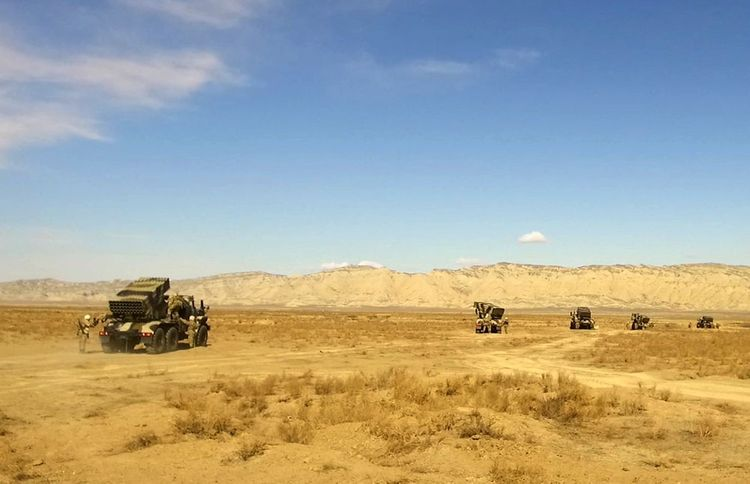 Troops redeployed during the operational exercises  - <span class=