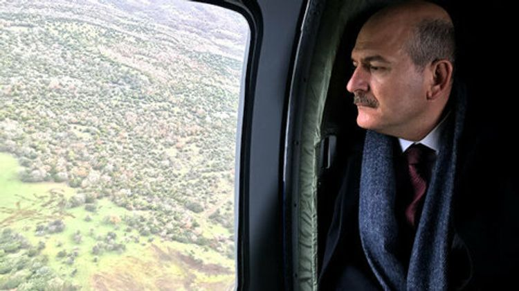"""Turkish Interior Minister: """"Turkey deploys fully-equipped polices into Turkish-Greek border"""""""