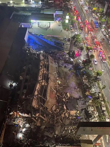 Chinese hotel 'used as Covid-19 quarantine site' collapses, trapping dozens under rubble