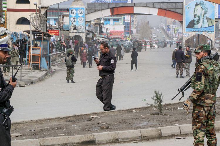 Unknown gunmen kill three in daylight in Afghan capital Kabul
