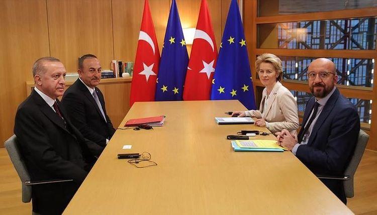 Turkish president meets EU leaders