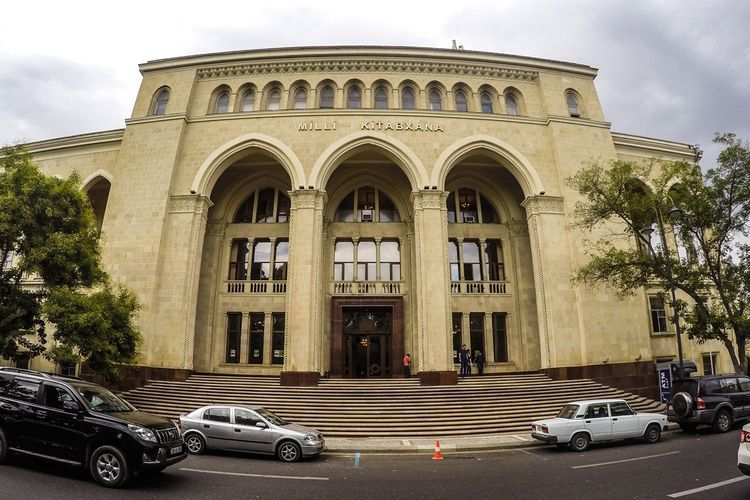 Disinfection works being conducted in National Library of Azerbaijan amid coronavirus threat