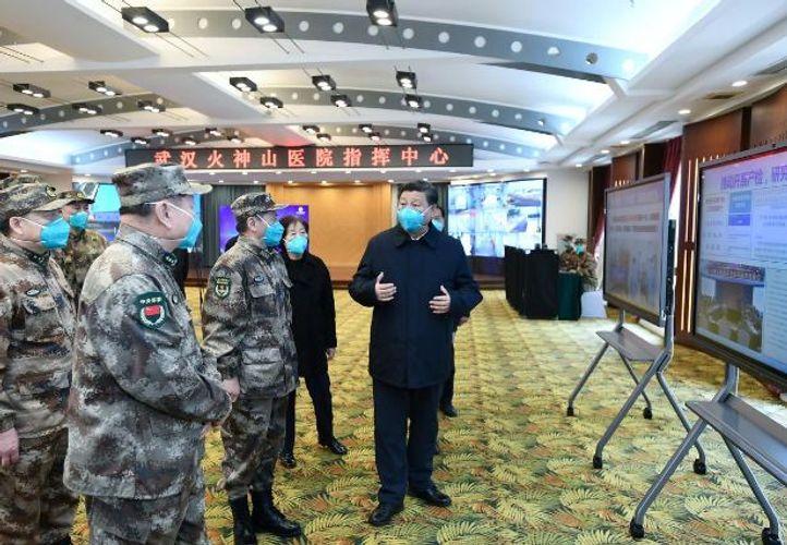 Xi visits Wuhan, signaling tide turning in China