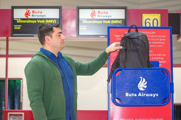 Buta Airways amends hand luggage rules
