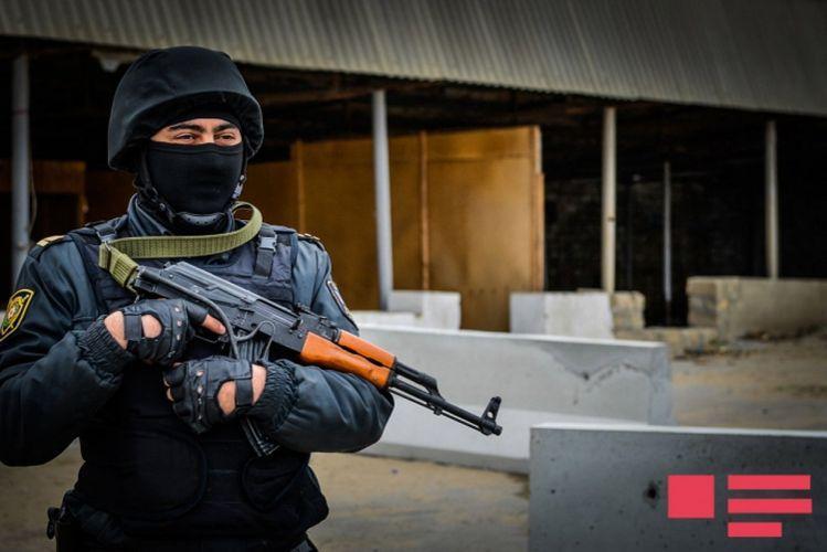 Main Organized Crime Department of Azerbaijan conducts operation in Zagatala