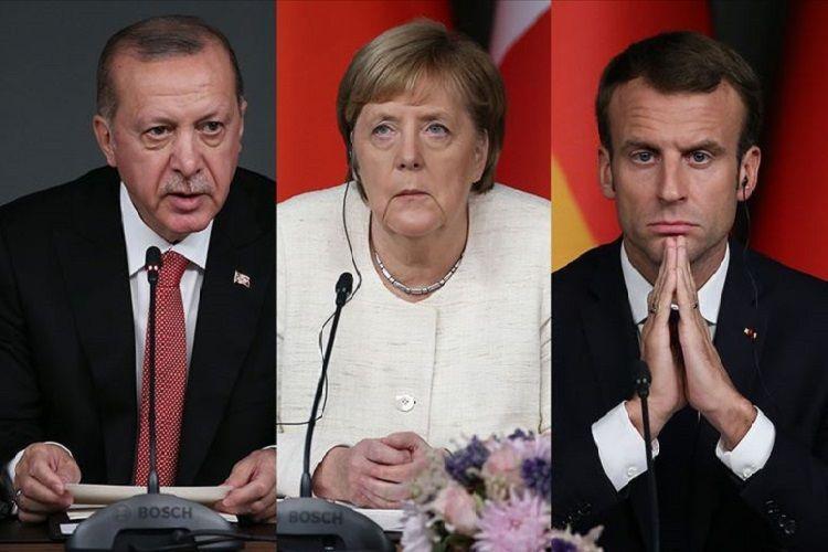 Ərdoğan, Merkel və Makron koronavirusa görə onlayn şəkildə toplaşacaqlar