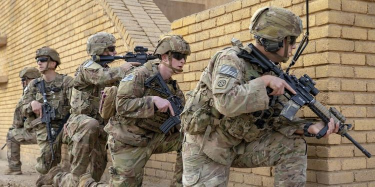 Rockets hit base housing US troops for second time