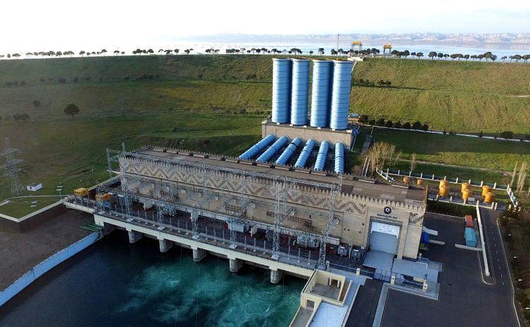 Повышается надежность и безопасность Мингячевирской ГЭС - ВИДЕО