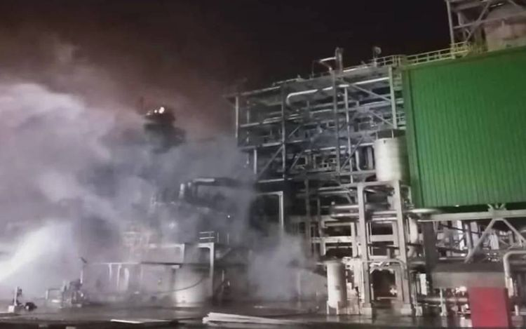 Five dead in fire at Petronas-Aramco refining complex in Malaysia