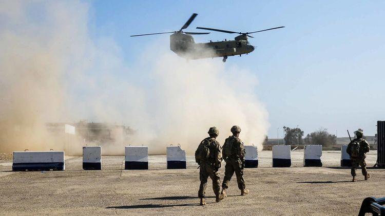 US-led coalition closing several bases in Iraq following rocket attacks