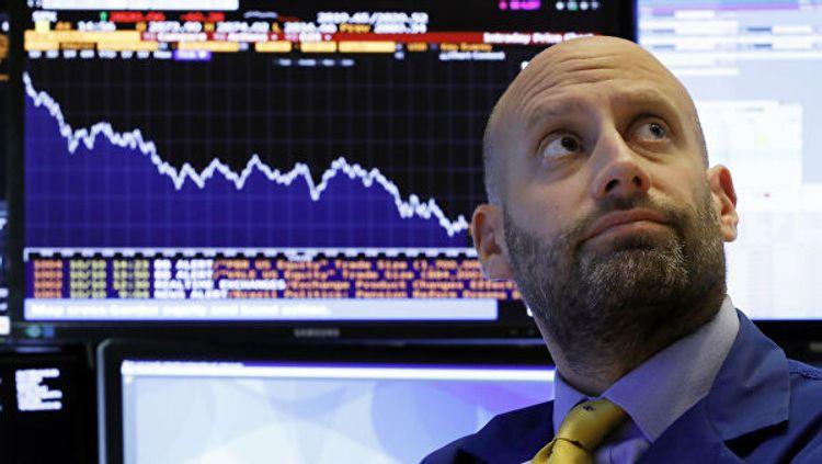 Американские биржи закрылись обвалом