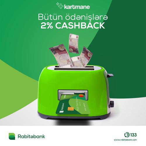 """""""Rabitəbank"""" """"Kartmane"""" sahiblərinə yeni fürsət yaradıb - <span class="""