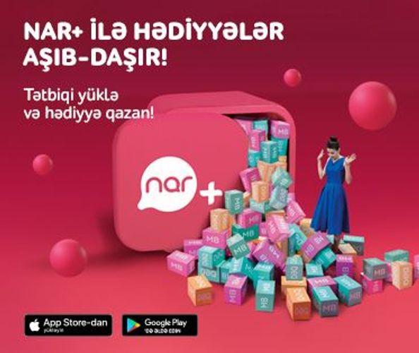 """""""Nar+""""un yeni istifadəçiləri üçün xüsusi kampaniya keçirilir"""