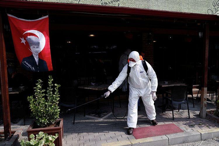 Türkiyədə koronavirusa yoluxanların sayı 359-a çatıb, 4 nəfər bu virusdan ölüb