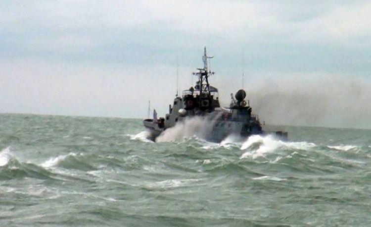 Hərbi Dəniz Qüvvələrində taktiki təlim keçirilib - VİDEO