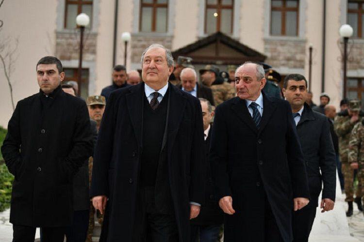 Ermənistan prezidenti Dağlıq Qarabağa gəlib