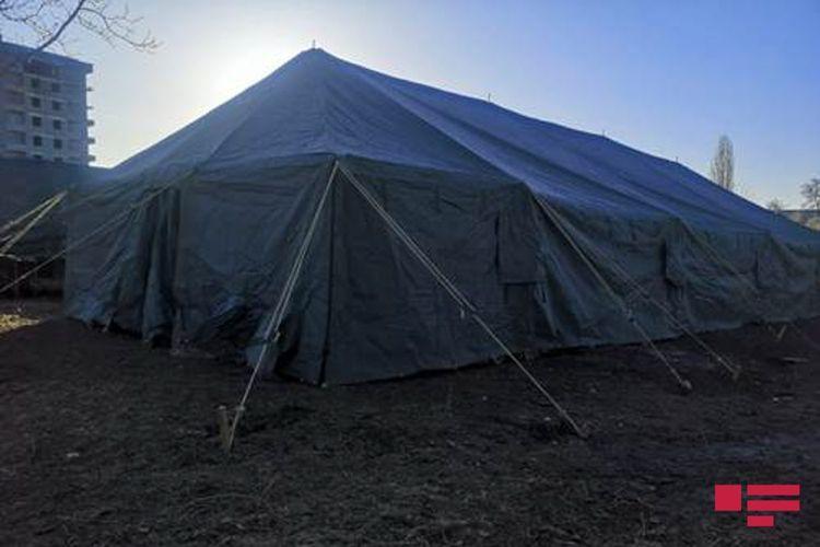 Field hospitals established in Georgia's Marneuli subjected to quarantine regime - <span class=