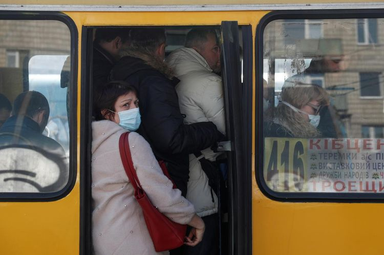 Kiev residents banned from using public transport