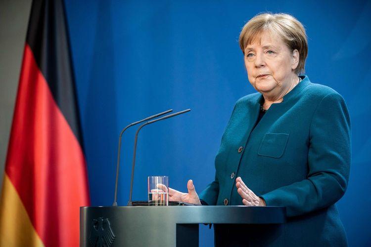 Angela Merkeldə koronavirus aşkarlanmayıb