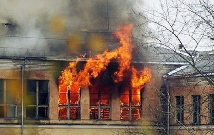 Seven people died in fire in Russia