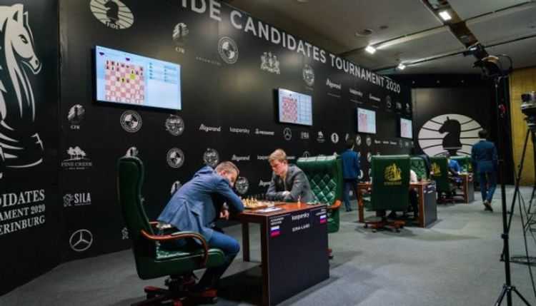 Candidates' Tournament in chess suspended midway through