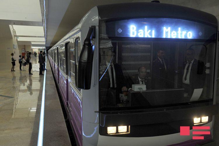 Bakı metrosundan istifadə edənlərin sayı 7% artıb