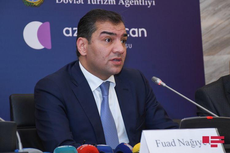 Fuad Nağıyev turizm sənayesinin nümayəndələrinə müraciət edib