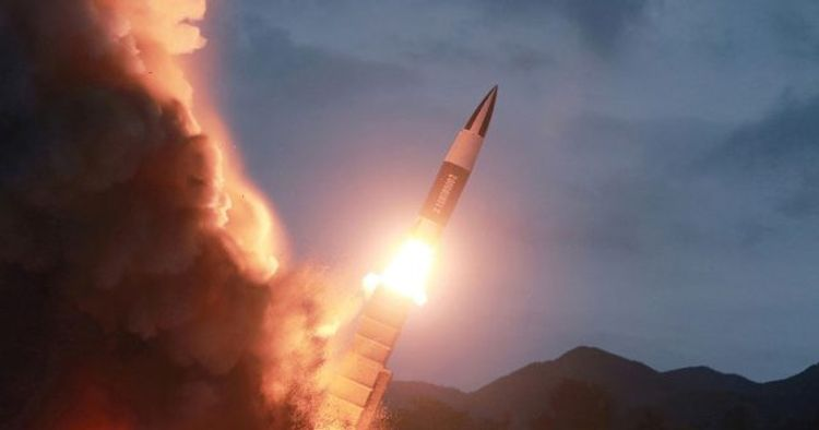 DPRK launches unidentified projectile Into Sea of Japan