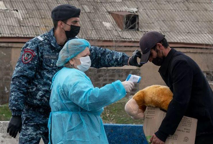 Ermənistanda koronavirusdan daha 2 nəfər ölüb