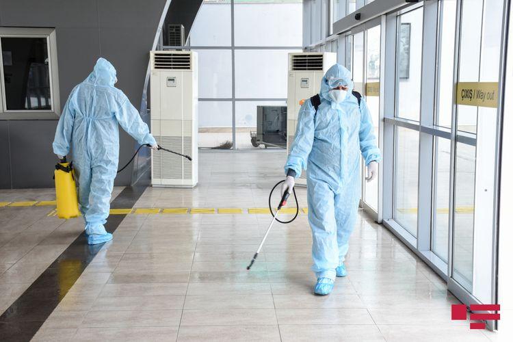 Ölkə üzrə telekommunikasiya qovşaqlarında dezinfeksiya işləri aparılır