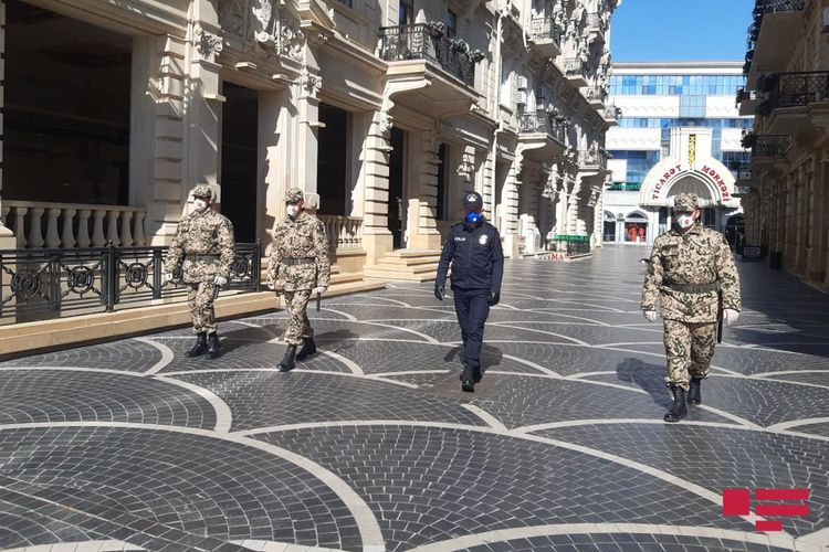 Internal Troops involved in measures of strengthening  special quarantine regime measures - <span class='red_color'>PHOTO</span>