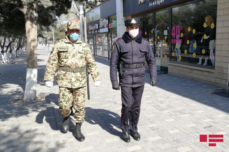 Internal Troops involved in strengthening special quarantine regime in Sumgait