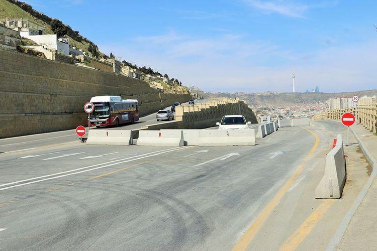 Начался последний этап строительно-восстановительных работ дороги в Бибиэйбат
