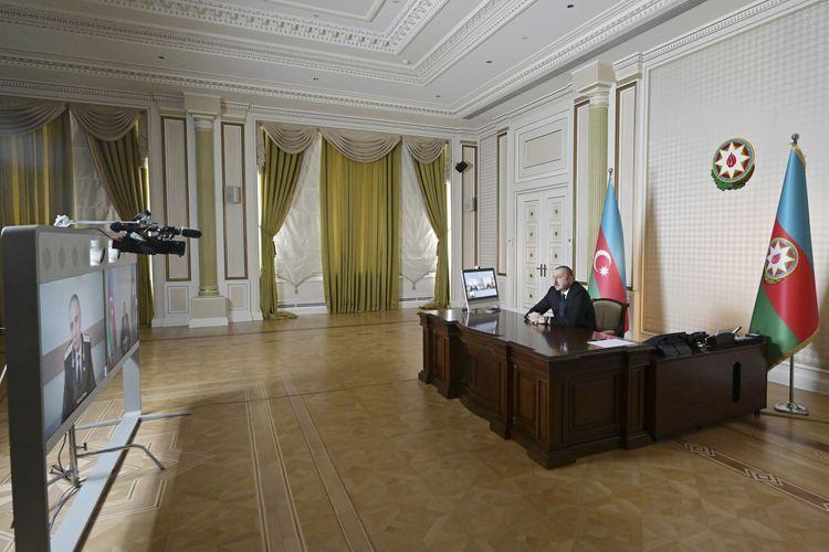 Президент Ильхам Алиев принял генпрокурора Кямрана Алиева в формате видеосвязи - ОБНОВЛЕНО