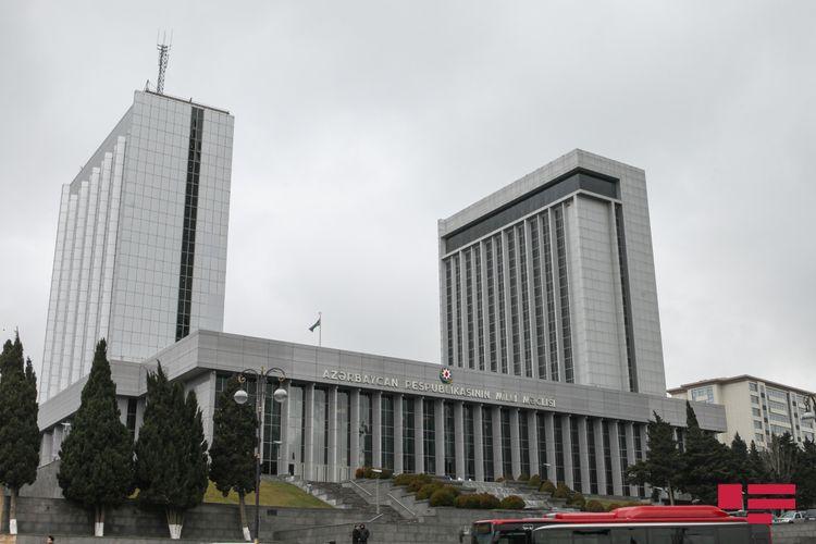 Milli Məclisin mayın 5-də keçiriləcək iclasının gündəliyi açıqlanıb - SİYAHI